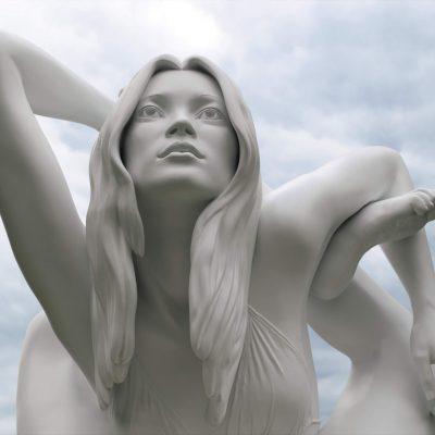 Sculptures around the Beethovenstraat